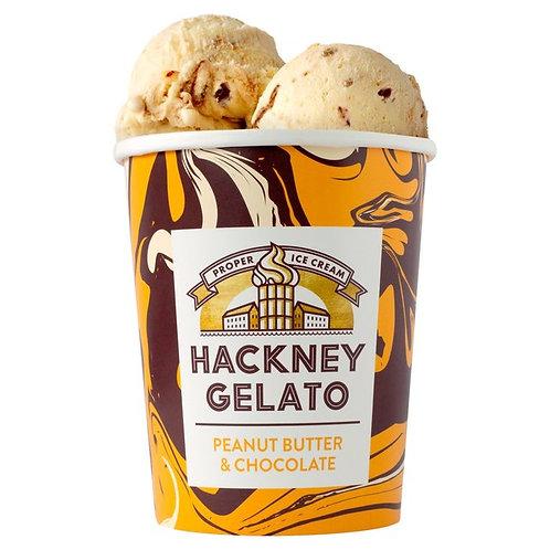 Hackney Gelato Peanut Butter & Chocolate 500ml