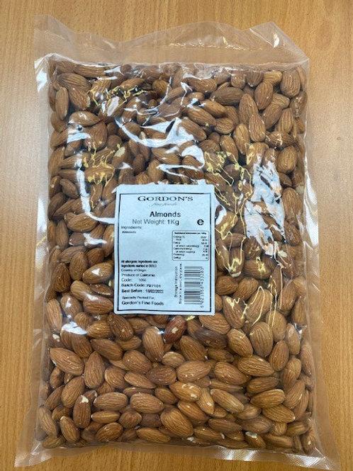 Almonds Skin On 1kg