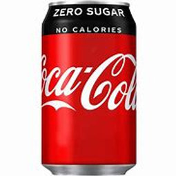 Coke Zero Can 24x330ml
