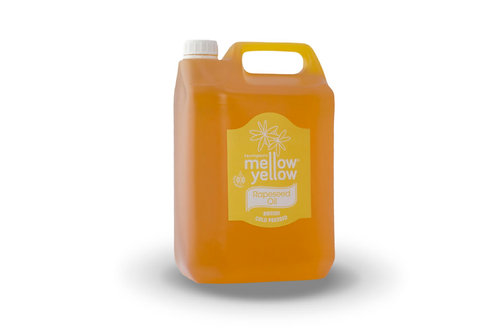 Rapeseed Oil Mellow Yellow Extra virgin 5ltr British)