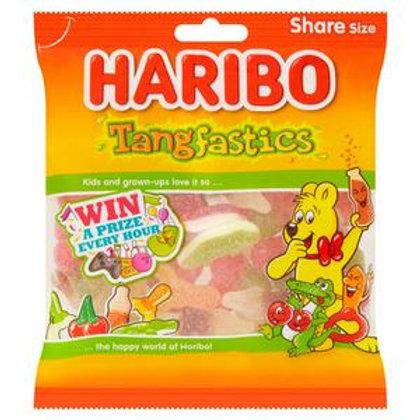 Haribo Tangfastics Sour Sweets Bag 140g