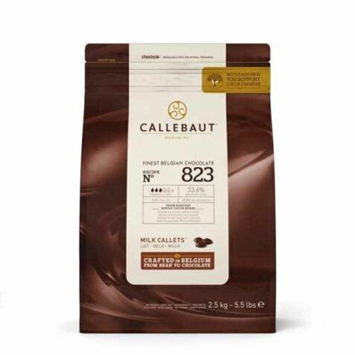Callebaut Milk Chocolate 33% 2.5kg