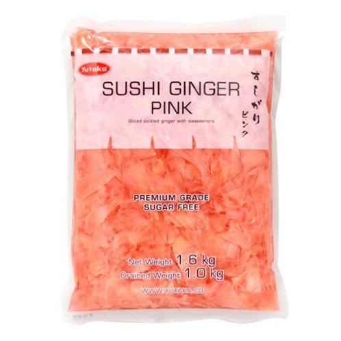 Sushi Ginger Pink Yutaka 1.6kg