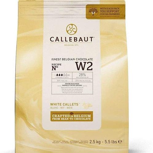 Callebaut White Chocolate  28% 2.5kg
