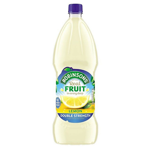 Robinsons Double Concentrate Lemon 1.75ltr