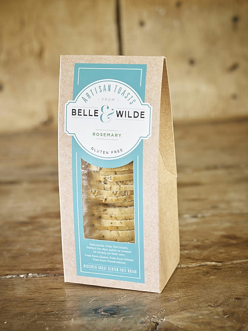 Belle & Wilde Artizan Toast Rosemary 100g