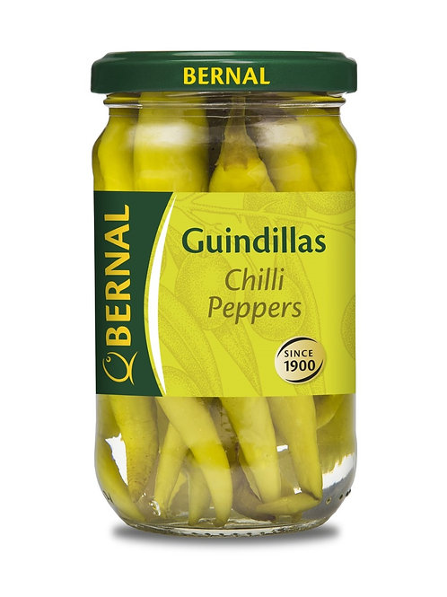 GUINDILLAS Pickled Chillies 290g