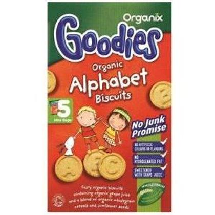 Organix Alphabet Biscuits 6 x 5 x 25g