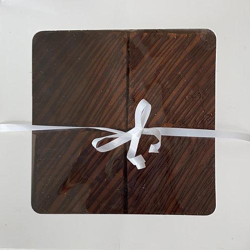 Gourmet Chocolate Brownies x4