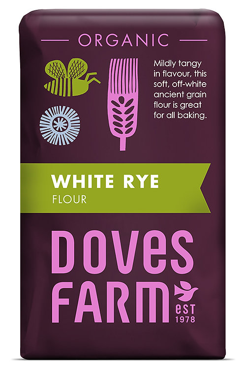 Doves Farm Orgainc White Rye Flour 1kg