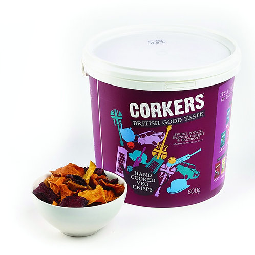 Vegetable Crisps (Corkers) 600g