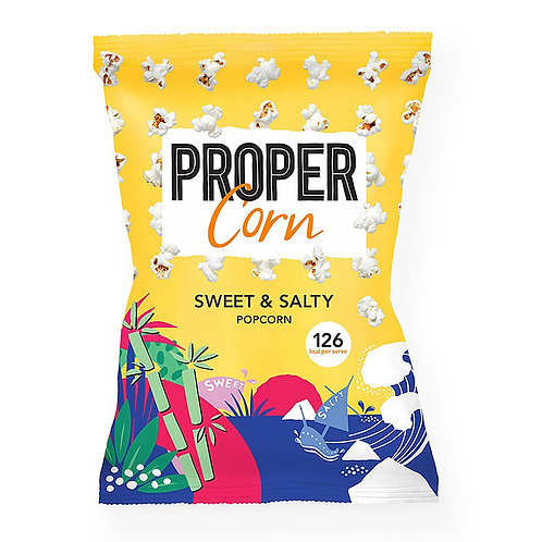 Propercorn Sweet & Salty 24x30g (Yellow)