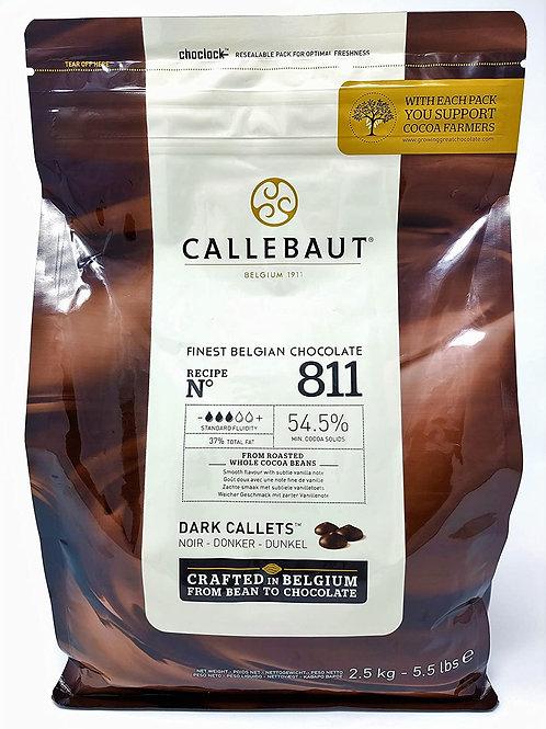 Callebaut Dark Chocolate  54.5% 2.5kg