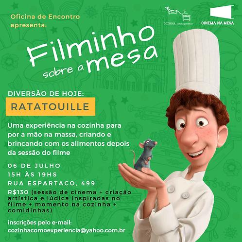 FILMINHO SOBRE A MESA - RATATOUILLE