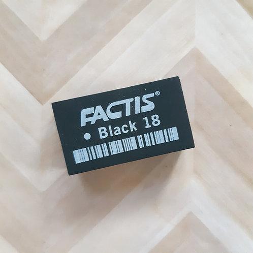Factis Black Eraser