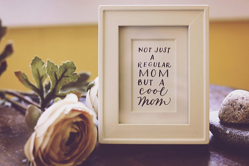 Mini Frame with Quote