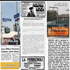 Los primeros restaurantes peruanos en Los Ángeles comenzaron en Hollywood. Hollywood fue la puerta de entrada de los inmigrantes peruanos en los años 60 y 70. Todos estos negocios son parte de nuestra historia que debe ser honrada y preservada. Las contribuciones de la comunidad peruana a Hollywood son muchas y ayudaron a dar forma a esta parte de L.A.