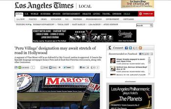 LA Times 2012
