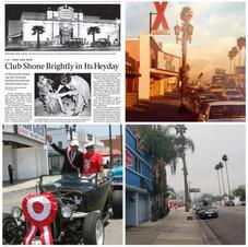 """Bienes Raíces en Hollywood Boulevard propiedad de Peruanos Americanos de 1ª generación que se asentaron en Hollywood en los 50s, 60s y 70s. Estos 3 edificios están muy próximos, 2 son contiguos y el otro está casi al frente. Los dueños no lo planearon de esa manera, fue una consecuencia natural de los inmigrantes peruanos que se asentaron en Hollywood, ellos progresaron e invirtieron en Hollywood estableciendo la """"zona cero"""" de Peru Village. 5951 Hollywood Blvd. Jardines florentinos. Propiedad del peruano estadounidense Kenneth MacKenzie 5959 Hollywood Blvd. X Teatro. Propiedad del peruano estadounidense Carlos Tobalina 5920 Hollywood Blvd. Complejo de apartamentos, propiedad de los peruanos estadounidenses: la familia Salvatierra (ahora The Vibe Hotel)"""