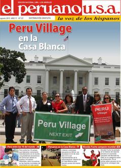 US Congressional Recognition to Peru Village L.A. .