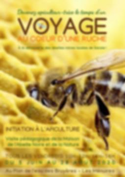 Flyer Voyage au coeur d'une ruche