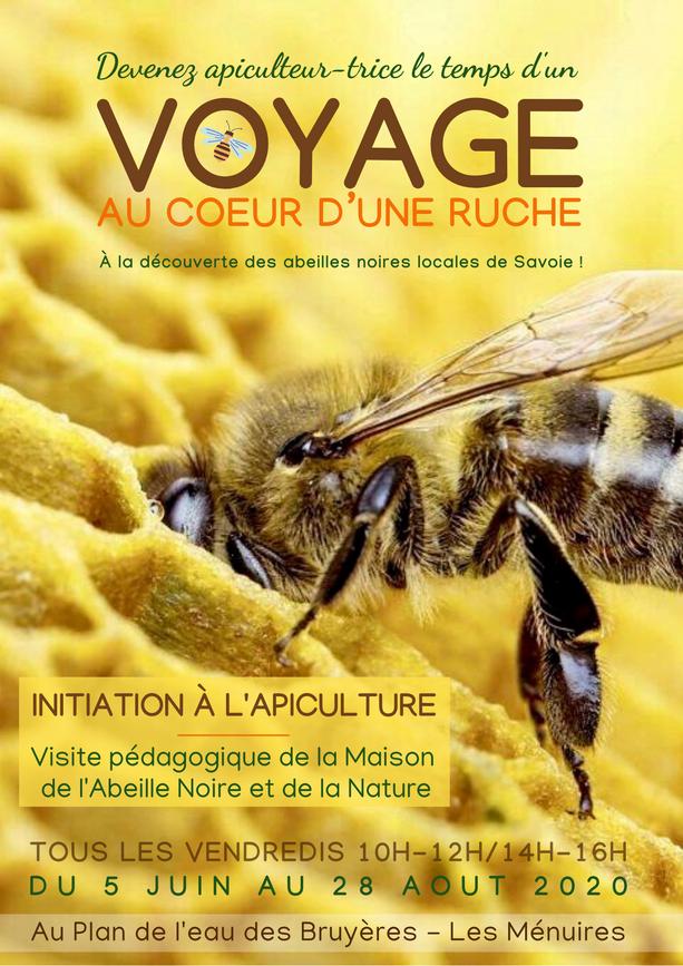 Flyer Voyage au coeur d'une ruche recto