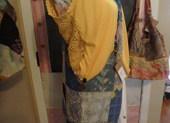 Recycled Sarong/Sari Monk Bag