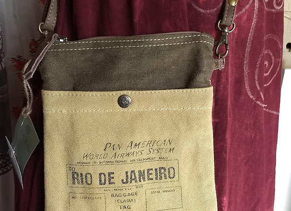 Rio De Janeiro Passport Bag