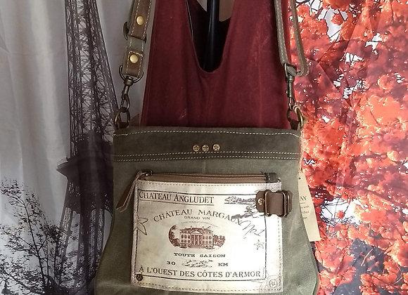 Chateau Margaux Shoulder Bag
