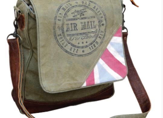 Air Mail Red Stripe Bag