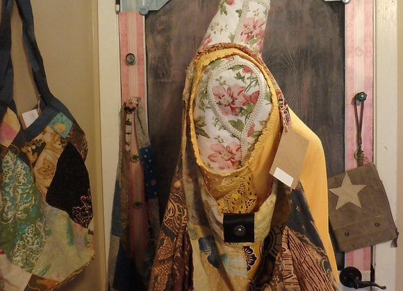 Recycled Sarong/Sari Tote Bag