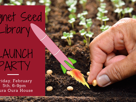 Cygnet Seed Library launches next week!