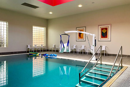Hydrotherapy pool in Fairfield