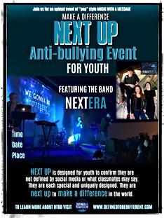 8.5x11 Next Up Event Poster