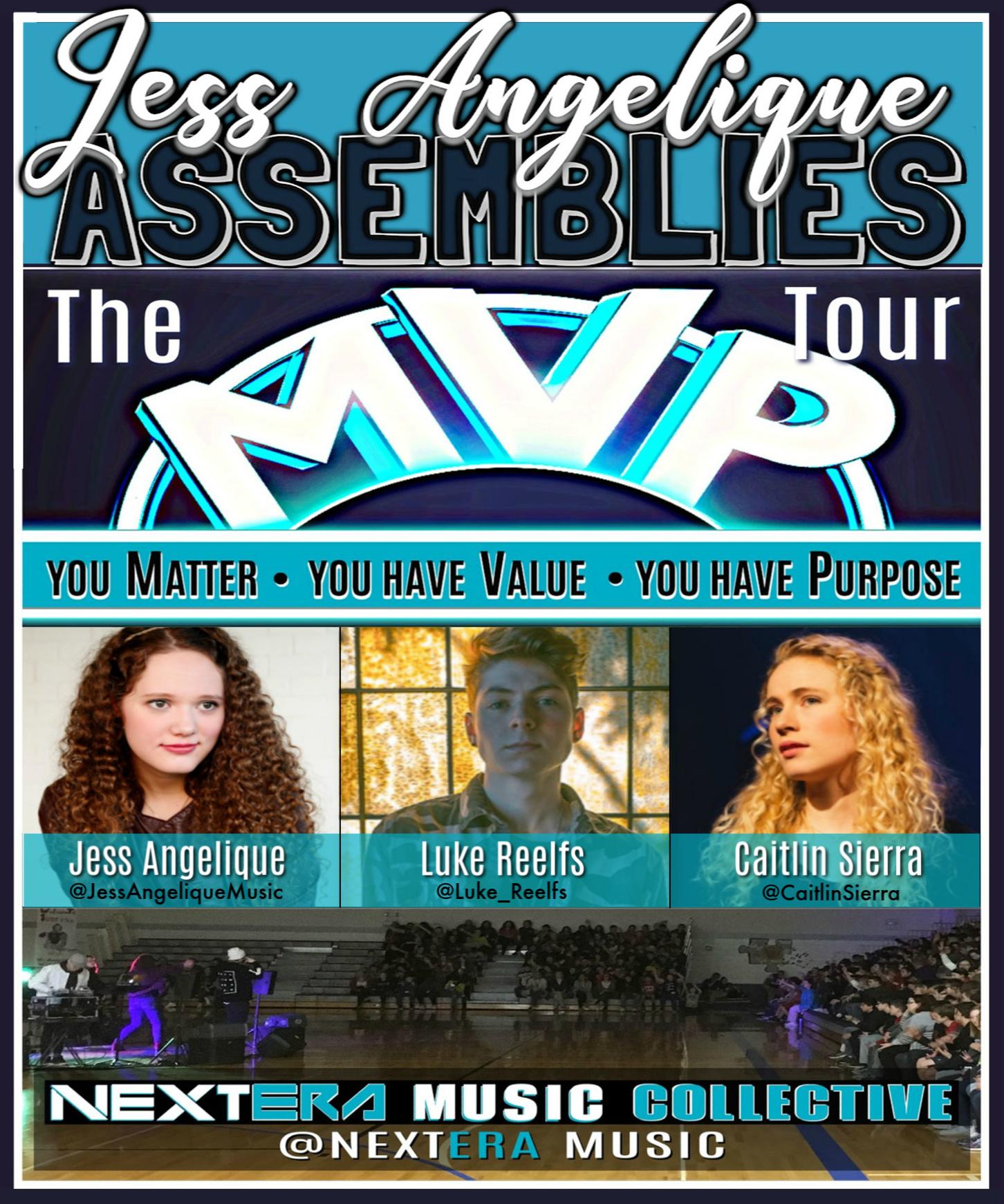Jess Angelique Assemblies Poster