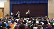 Jess Angelique Assemblies at Fullerton Magnet Elementary, Omaha