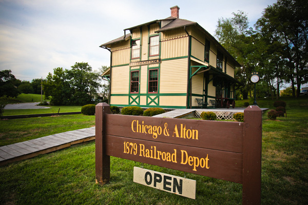 Chicago & Alton Depot