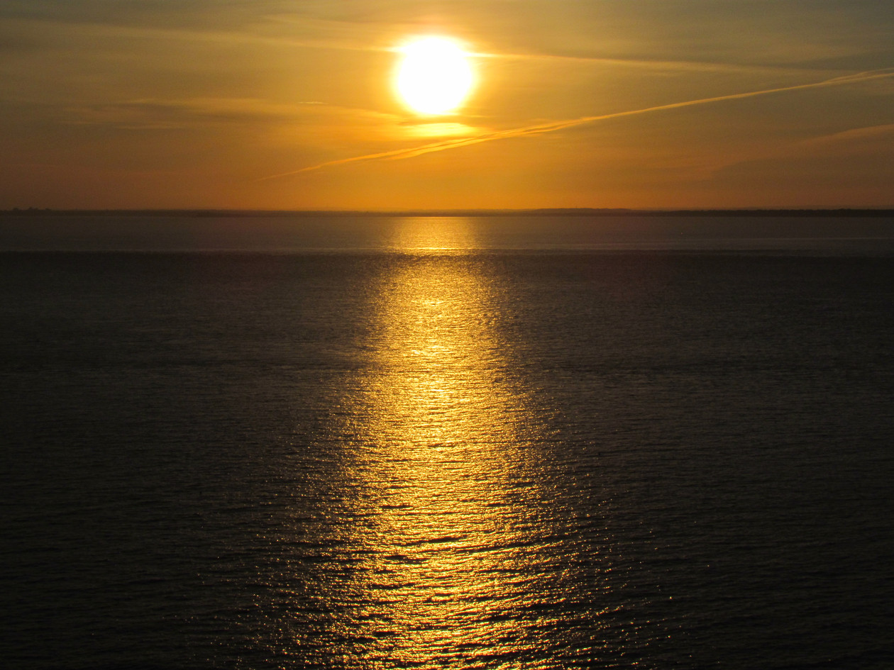 Sunset at Colwell Bay