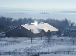 L'hiver à la ferme