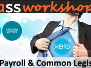 Our Xero Payroll Workshop Now Includes Legislation