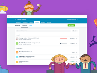 Introducing Xero Projects - manage job time, costs and profitability