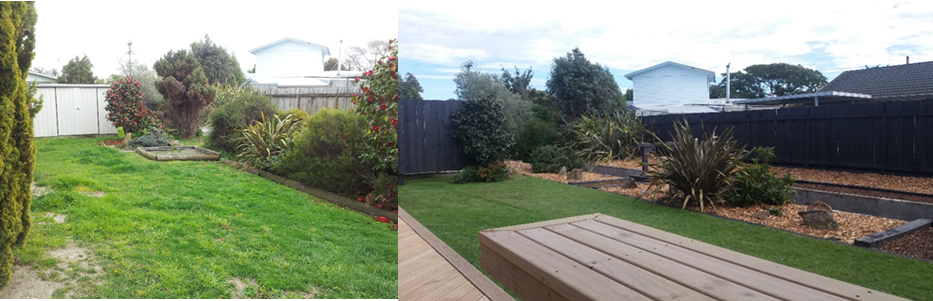 Creating Homes, Blenheim - Before & After Pictures