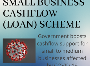 More Relief for Businesses Affected by COVID-19 as Government Announce the Small Business Cashflow (