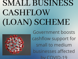 More Relief for Businesses Affected by COVID-19 as Government Announce the Small Business Cashflow
