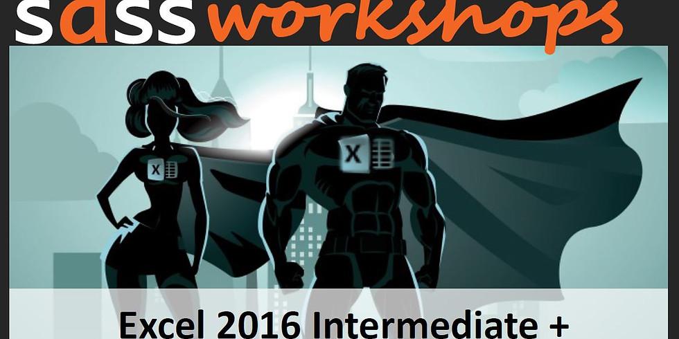 Microsoft Excel 2016 - Intermediate+