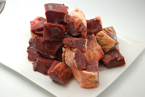 Diced Heart Chunks - Per Kilo