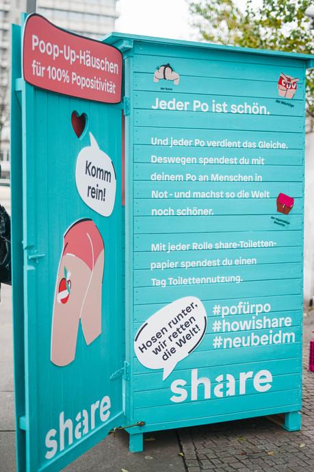 share - poop up shop