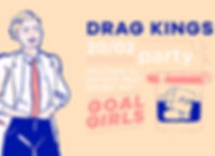 drag kings - party