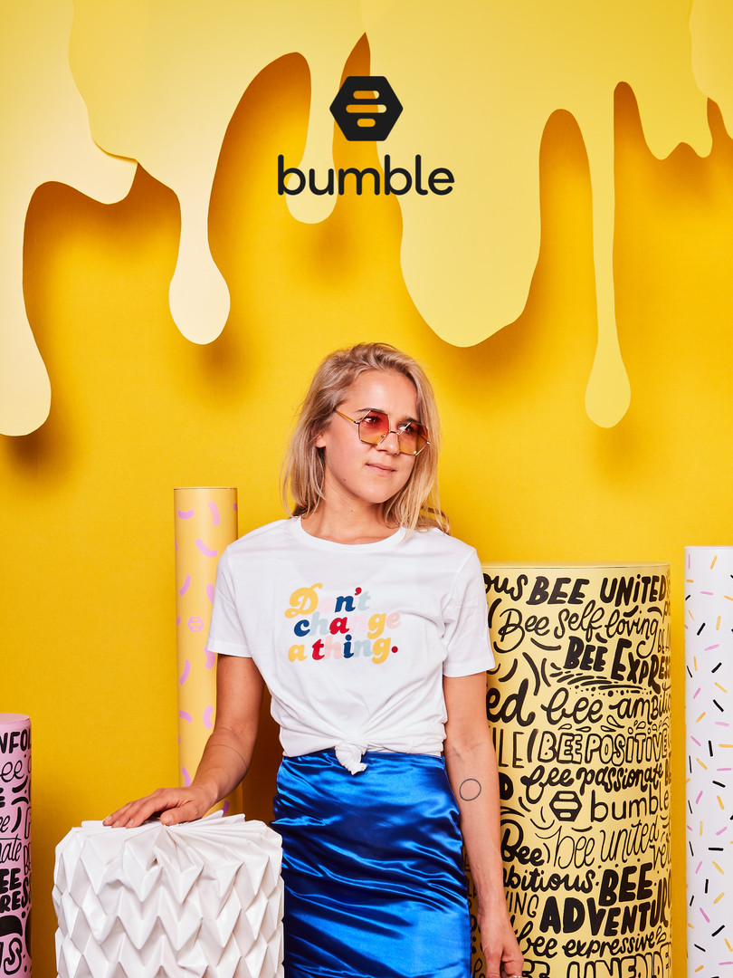 bumble x eyecandy - #beeunited
