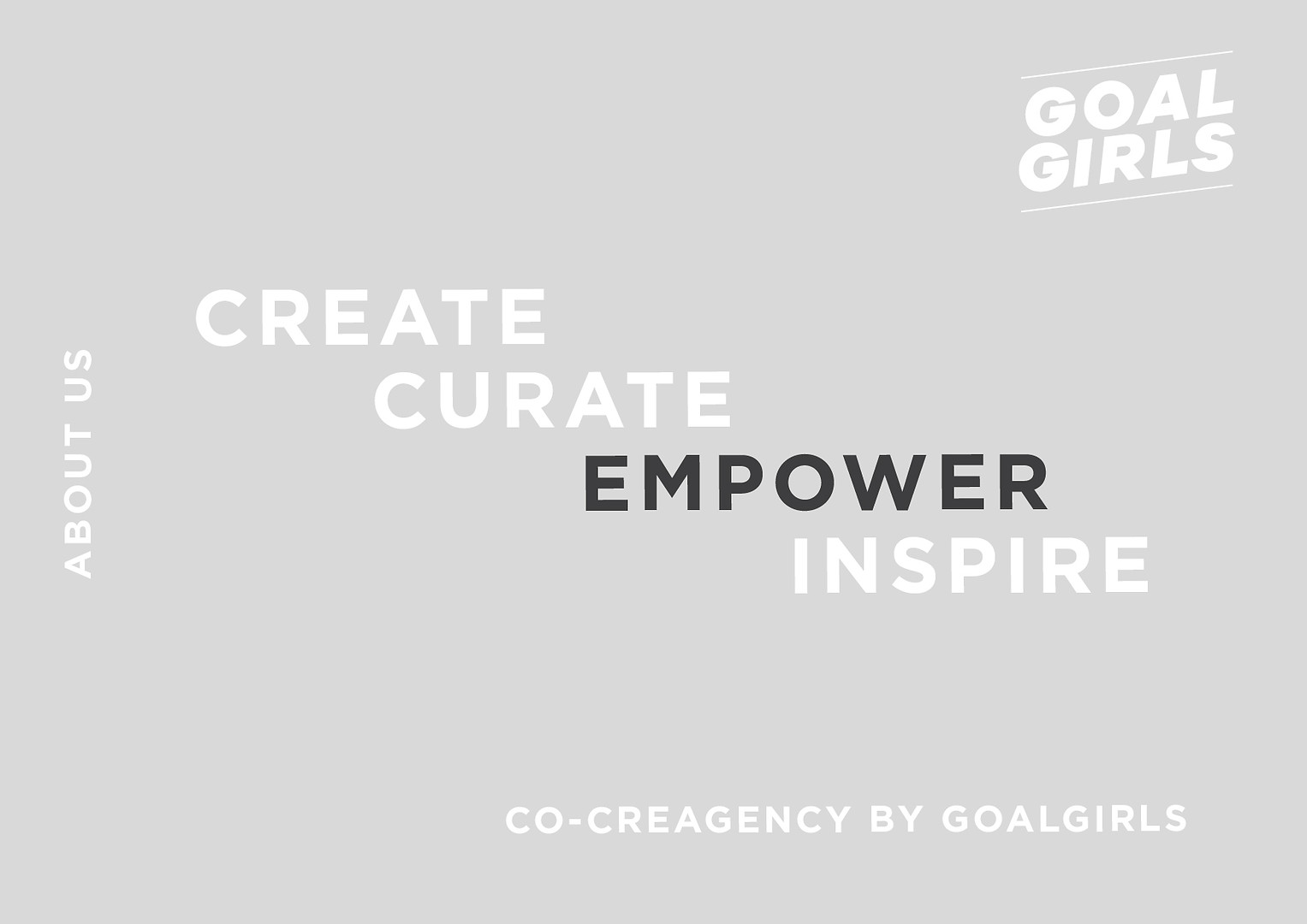 goalgirls - 2020 brand deck
